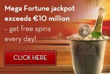 5 daily free chances on the 10 Million Euro Jackpot!