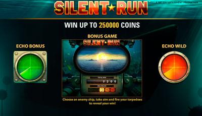 Silent Run by Net Entertainment