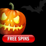 Find a scary Halloween pumpkin and get 50 Free Spins!