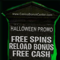 Free Spins and Halloween Goodies starts tomorrow!