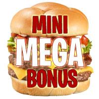 MiniMegaBonus: Deposit $5 Play with $505