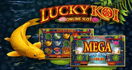 30 Free Spins on Lucky Koi