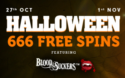 Halloween Giveaway – 666 Free Spins