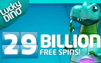Tons of free spins at LuckyDino this November