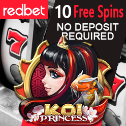 "News flash: Free Spins on ""Koi Princess"" for both New and Existing Players!"