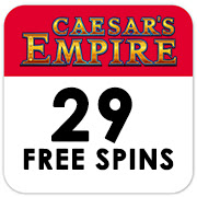 "29 Free Spins on ""Caesars Empire"""
