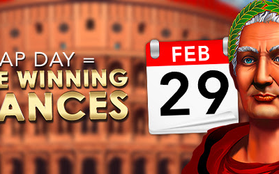 Leap day = More Winning Chances! Get 29 Free Spins today