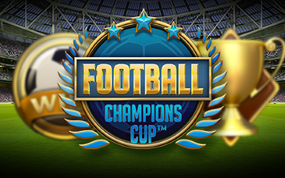 """Free spins on NetEnt's latest game """"Football: Champions Cup"""""""