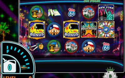 "Nuovo stupefacente di slot online: ""Wheel of Fortune on Tour"""