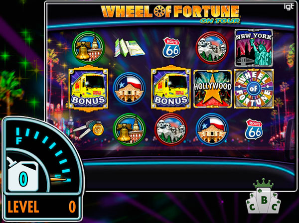 "New amazing online slot: ""Wheel of Fortune on Tour"""