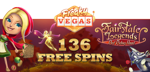 "Free spins on Netent's latest game release – ""Fairytale Legends: Red Riding Hood"""