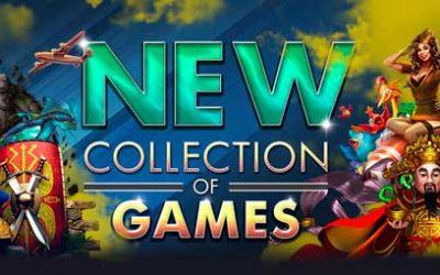 43 Nya Spel finns på Vegas Crest Casino