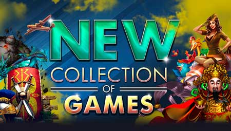 43 New Games available on Vegas Crest Casino