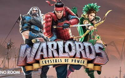 "100 free spins on ""Warlords: Crystals of Power"""
