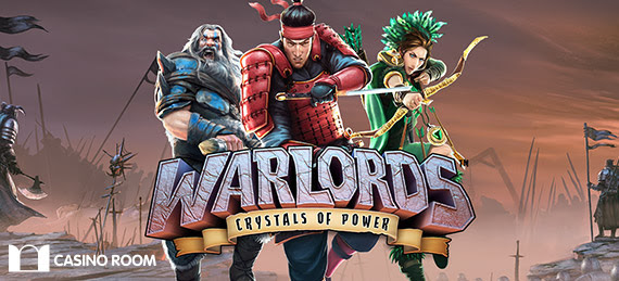 "100 free spins på ""Warlords: Crystals of Power"""