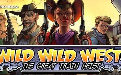 "Bara idag! Få 50 Free Spins på nya slot-maskin ""Wild Wild West"""