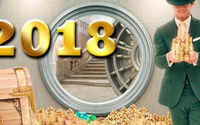 Gratis contant geld in 2018 - Win € 1,000 elke week in contanten voor een heel jaar!