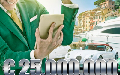 € 25,000,000 Sports Jackpots bei MrGreen
