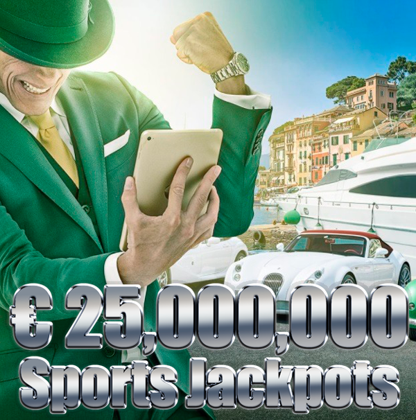 €25,000,000 Sports Jackpots at MrGreen