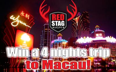 Gagnez des vacances de luxe à Macao!