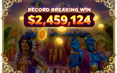 Record-breaking $2.4 Million win!